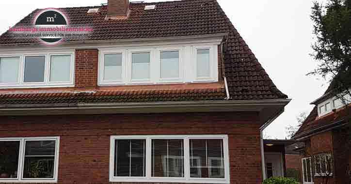 Immobilienmakler Hamburg: Doppelhaushälfte in Fuhlsbüttel
