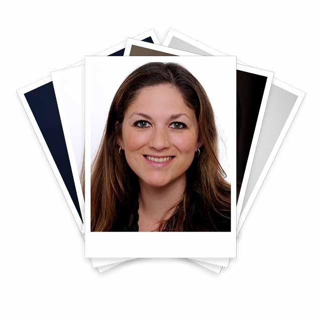 Team Mitglied Maria Urtecho Lopez auf Polaroid Foto