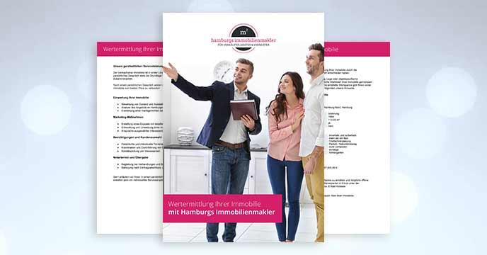 Vermarktungsstrategie in Magazin von Hamburgs Immobilienmakler für die Vermietung einer Wohnung