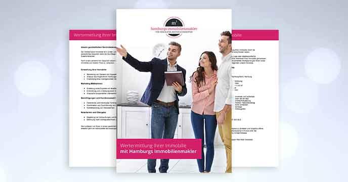 Vermarktungspaket Unterlagen für Immobilienverkauf von Hamburgs Immobilienmakler