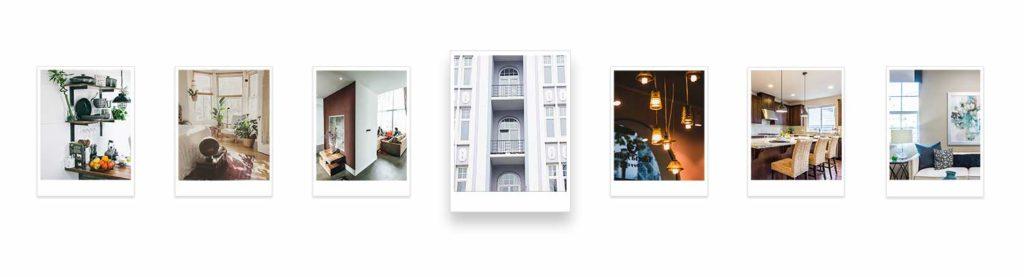 Expose Fotos von einem zum Verkauf stehenden Haus