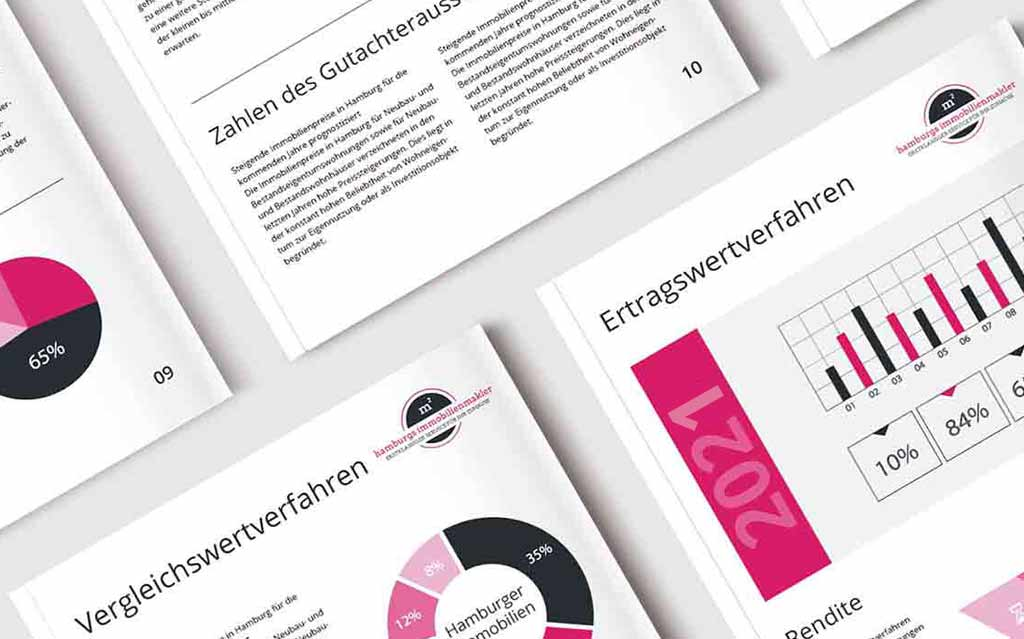 Informationsmaterial zum Hausverkauf bei Scheidung von Hamburgs Immobilienmakler