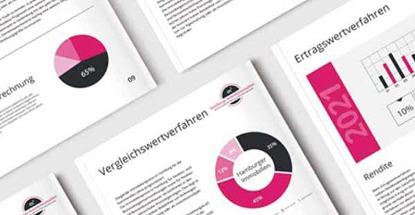 Immobilienbewertungen mit Vergleichswertverfahren, Ertragswertverfahren und Sachwertverfahren von Immobilien aus Eppendorf