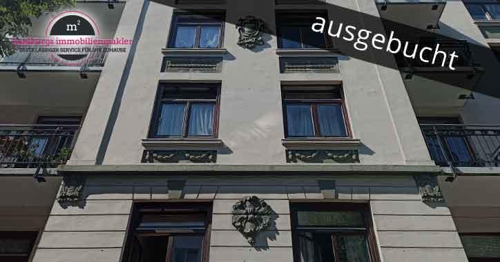 Zwei Zimmer Altbauwohnung in 22297 Hamburg Winterhude